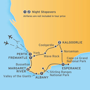 enjoy a walking tour of fremantle with a cruise of swan river itinerary map